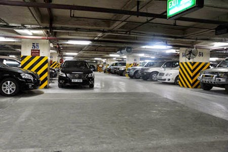 Hệ thống hầm đỗ xe thông minh